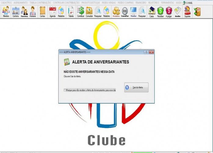 Programa para Gerenciar de Clube, Agendamento + Vendas e Financeiro v3.0 Plus fpqsystem
