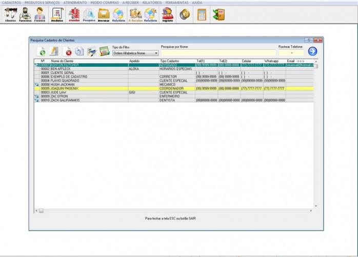 Programa BarberShop  v1.0 fpqsystem