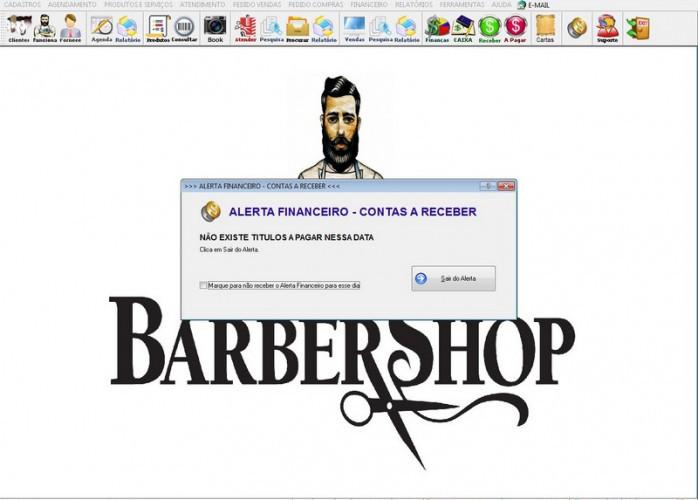 Programa BarberShop, Agendamento, Vendas e Financeiro v4.0 Plus fpqsystem