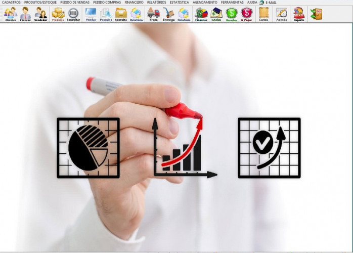 Programa Gerenciar Representação, Pedido de Vendas e Financeiro v4.0 PLUS fpqsystem