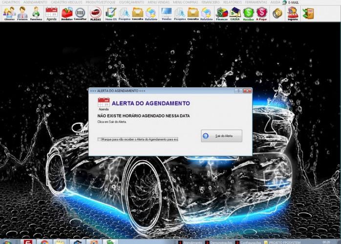 Programa Lavagem Automotiva Ordem de Serviço, Vendas v3.0 fpqsystem