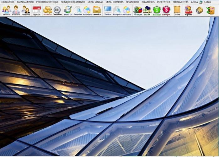 Programa OS Vidraçaria e Esquadria com Vendas, Financeiro e Agendamento v5.7 Plus fpqsystem