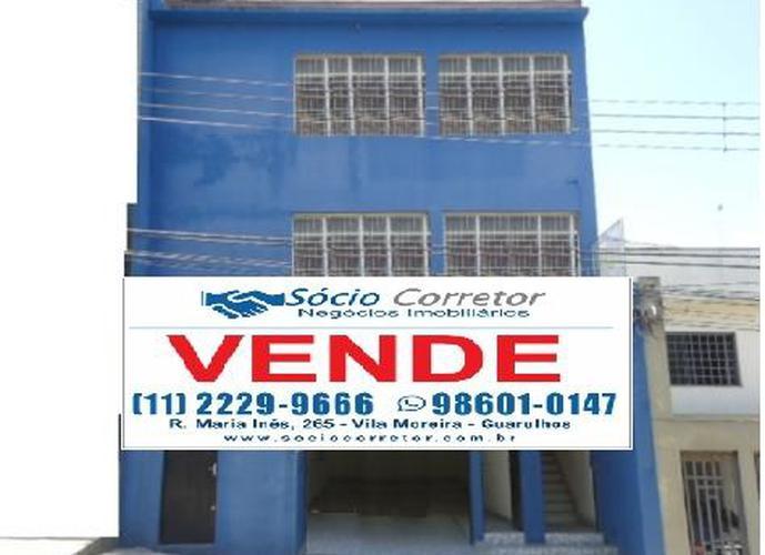 VENDO PRÉDIO COMERCIAL 600m² AO LADO DO FÓRUM DE GUARULHOS - Edifício Comercial a Venda no bairro CENTRO - Guarulhos, SP - Ref: SC00066