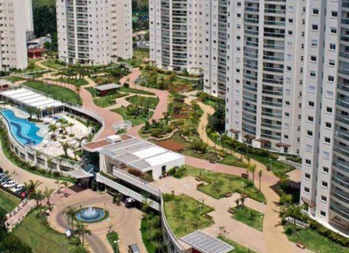 Resort Tamboré, 113 m2, 2 suítes, sala estendida, 2 vagas - Apartamento para Aluguel no bairro Tamboré - Santana de Parnaíba, SP - Ref: FRAP0073