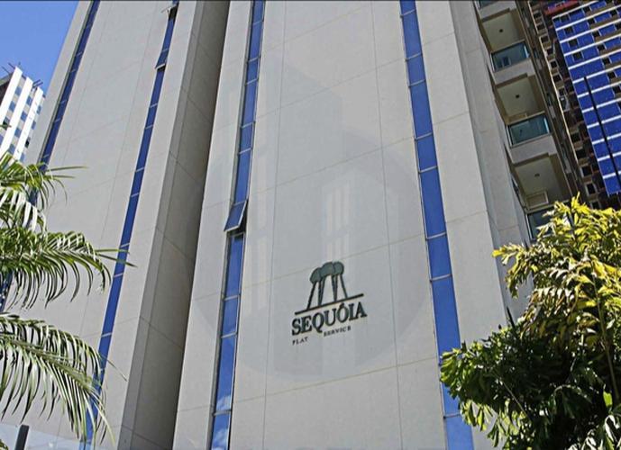 Flat no centro de Alphaville - Edifício Sequoia, 57 m2, 1 vg - Flat para Aluguel no bairro Alphaville - Barueri, SP - Ref: FRFL0001