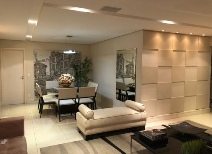 Alphaville - Mont Blanc - Mobiliado, 165 m2, 3 suítes, 3 vgs - Apartamento para Aluguel no bairro Alphaville - Barueri, SP - Ref: OL07290
