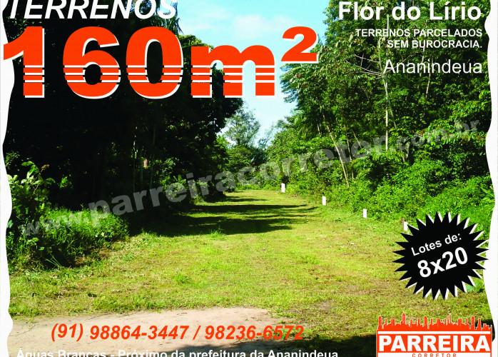 Terrenos em Ananindeua, lotes, loteamento, pronto para construir, Parreira Corretor