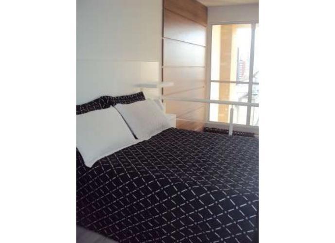 Flat em Brooklin/SP de 45m² 1 quartos para locação R$ 3.800,00/mes