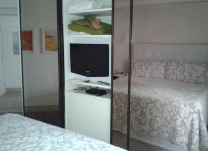 Flat em Itaim Bibi/SP de 35m² 1 quartos para locação R$ 8.300,00/mes