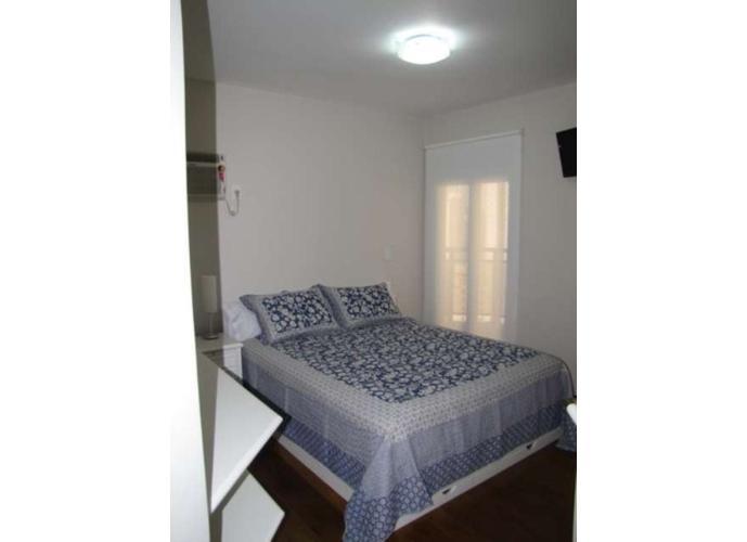 Flat em Moema/SP de 120m² 3 quartos para locação R$ 7.300,00/mes