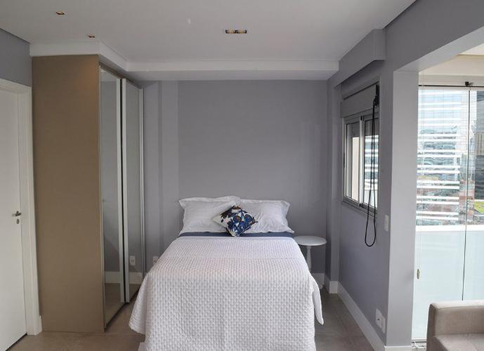 Apartamento em Chácara Santo Antonio/SP de 38m² 1 quartos para locação R$ 3.150,00/mes