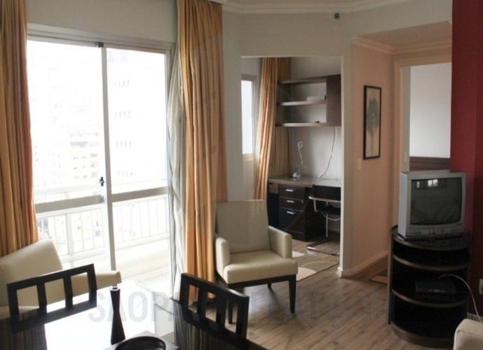 Flat em Bela Vista/SP de 45m² 1 quartos para locação R$ 3.200,00/mes
