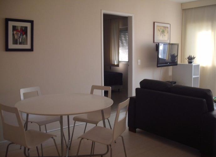 Flat em Higienopolis/SP de 60m² 2 quartos para locação R$ 3.400,00/mes