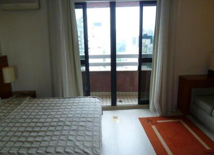 Flat em Itaim Bibi/SP de 35m² 1 quartos para locação R$ 4.900,00/mes