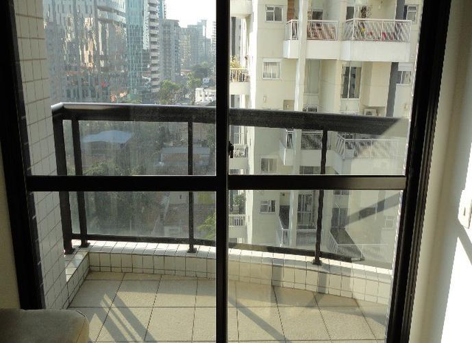 Flat em Itaim Bibi/SP de 40m² 1 quartos para locação R$ 4.200,00/mes