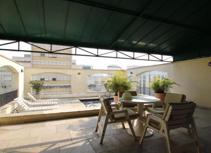 Flat em Jardim Paulista/SP de 45m² 1 quartos para locação R$ 3.300,00/mes