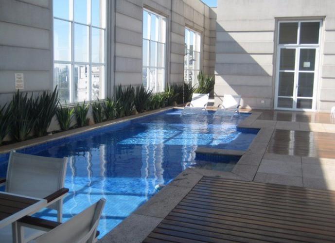 Flat em Vila Nova Conceicao/SP de 60m² 2 quartos para locação R$ 12.500,00/mes