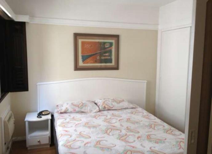Flat em Itaim Bibi/SP de 30m² 1 quartos para locação R$ 2.500,00/mes