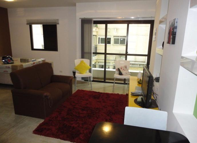 Flat em Jardins/SP de 30m² 1 quartos para locação R$ 2.500,00/mes