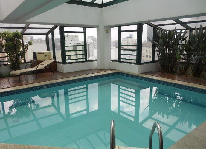 Flat em Itaim Bibi/SP de 40m² 1 quartos para locação R$ 2.700,00/mes