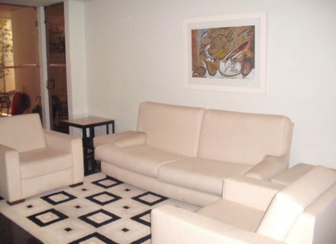 Flat em Moema/SP de 60m² 2 quartos para locação R$ 2.600,00/mes
