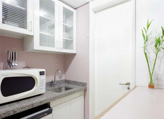 Flat em Moema/SP de 30m² 1 quartos para locação R$ 2.400,00/mes