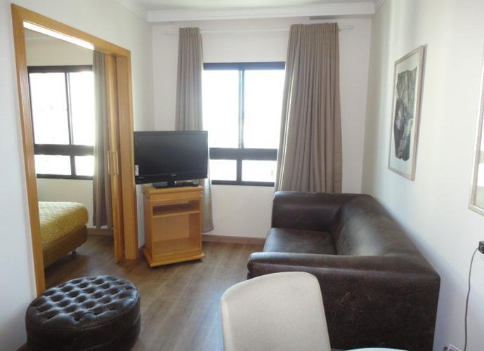 Flat em Pinheiros/SP de 35m² 1 quartos para locação R$ 2.500,00/mes