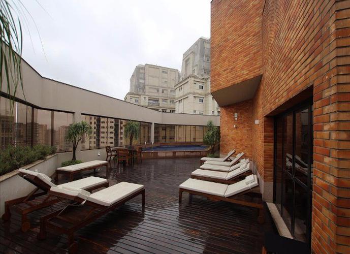Flat em Vila Nova Conceição/SP de 40m² 1 quartos para locação R$ 2.400,00/mes