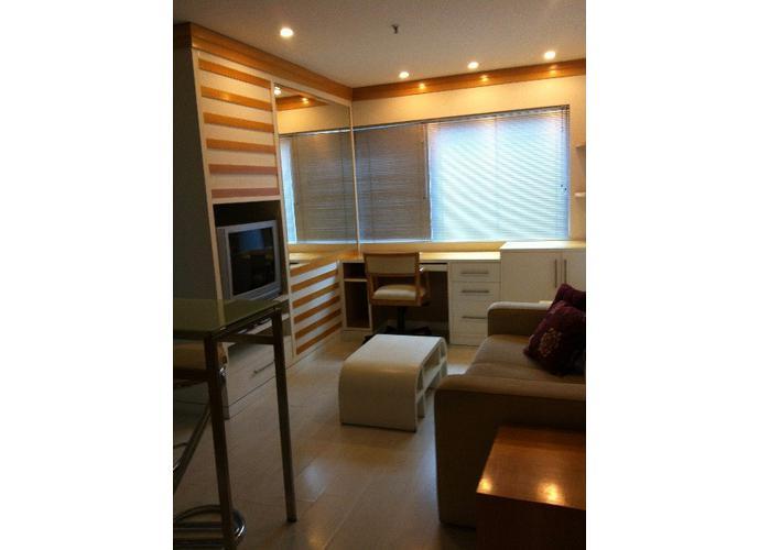 Flat em Vila Olímpia/SP de 30m² 1 quartos para locação R$ 2.500,00/mes