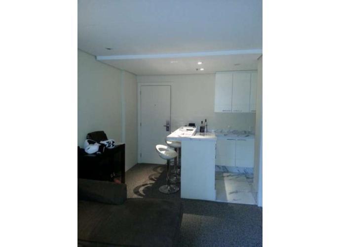Flat em Moema/SP de 35m² 1 quartos para locação R$ 2.200,00/mes