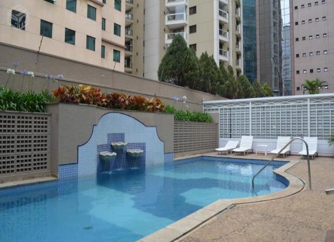 Flat em Vila Olímpia/SP de 35m² 1 quartos para locação R$ 2.100,00/mes