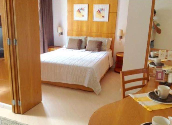 Flat em Moema/SP de 35m² 1 quartos a venda por R$ 350.000,00