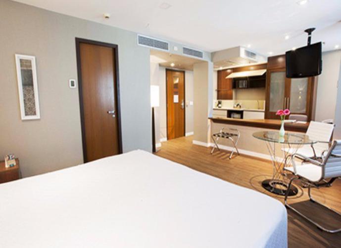 Flat em Moema/SP de 28m² 2 quartos a venda por R$ 435.000,00