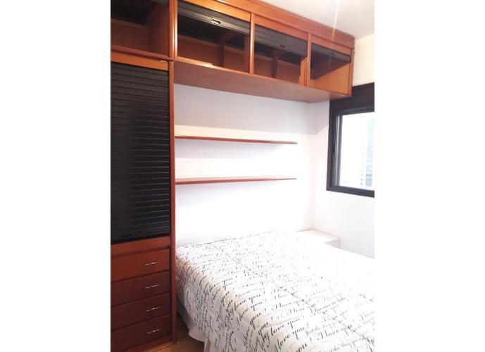 Flat em Moema/SP de 60m² 2 quartos para locação R$ 2.315,00/mes
