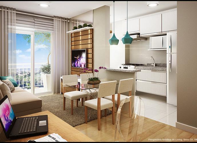 Apartamento em Quitaúna/SP de 46m² 2 quartos a venda por R$ 190.100,00