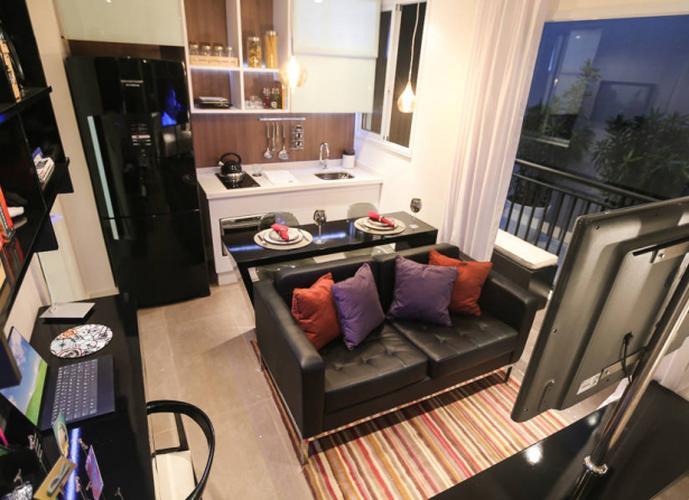 Apartamento em Brás/SP de 28m² 1 quartos a venda por R$ 199.000,00