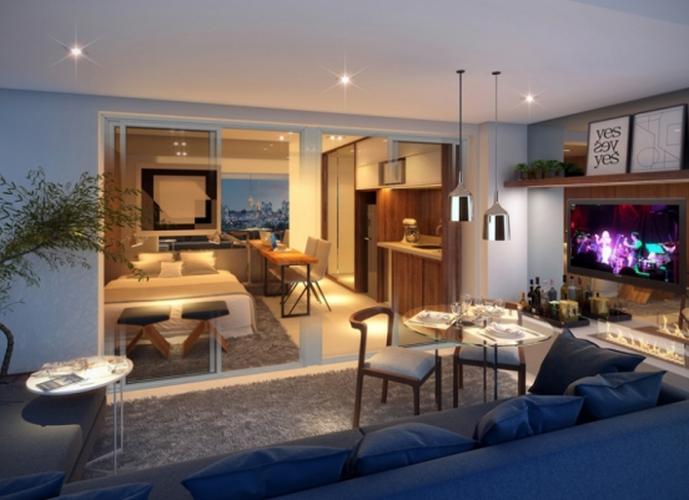Apartamento em São Paulo/SP de 36m² 1 quartos a venda por R$ 393.078,00