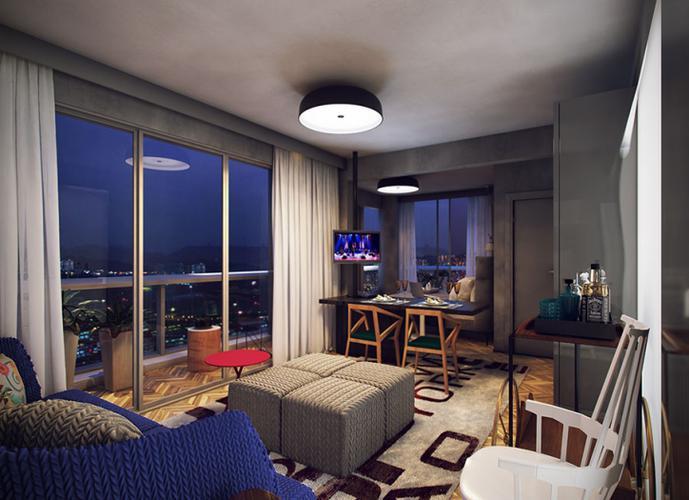 Apartamento em Centro/SP de 27m² 1 quartos a venda por R$ 400.881,00