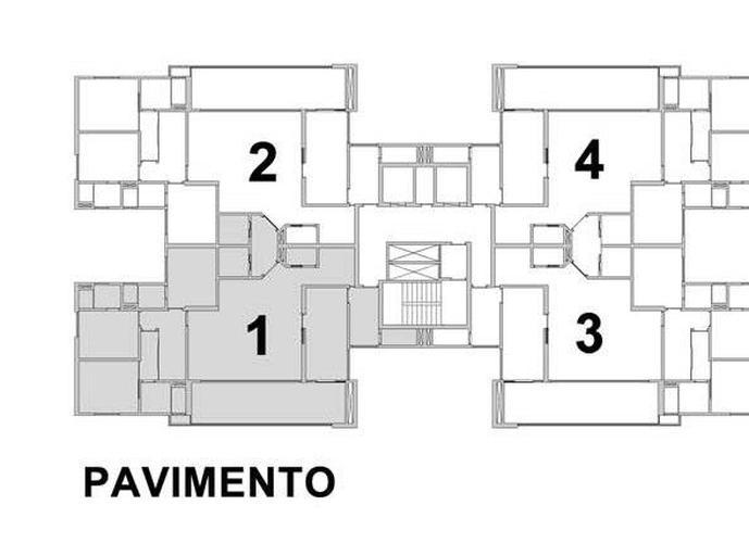 Apartamento em Jardim Nova Yorque/SP de 171m² 3 quartos a venda por R$ 1.060.000,00