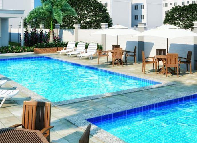 Apartamento em Monte Carlo/SP de 44m² 2 quartos a venda por R$ 134.997,00