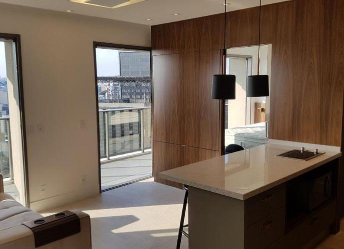 Apartamento em Pinheiros/SP de 64m² 2 quartos para locação R$ 7.500,00/mes