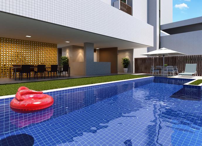 Apartamento em Espinheiro/PE de 50m² 2 quartos a venda por R$ 320.000,00