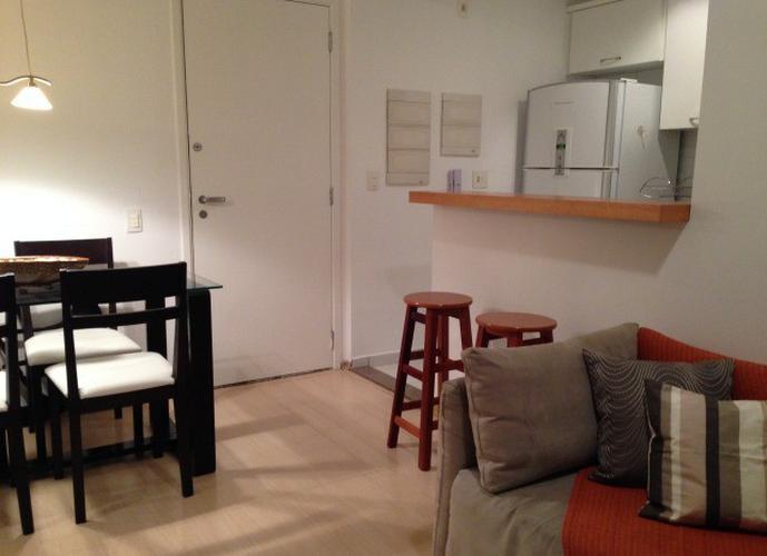 Flat em Itaim Bibi/SP de 55m² 1 quartos para locação R$ 2.900,00/mes