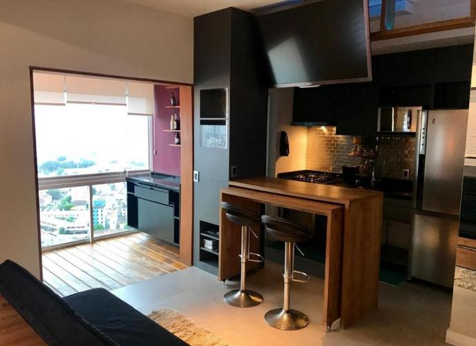 Apartamento em Boqueirão/SP de 47m² 1 quartos para locação R$ 4.000,00/mes