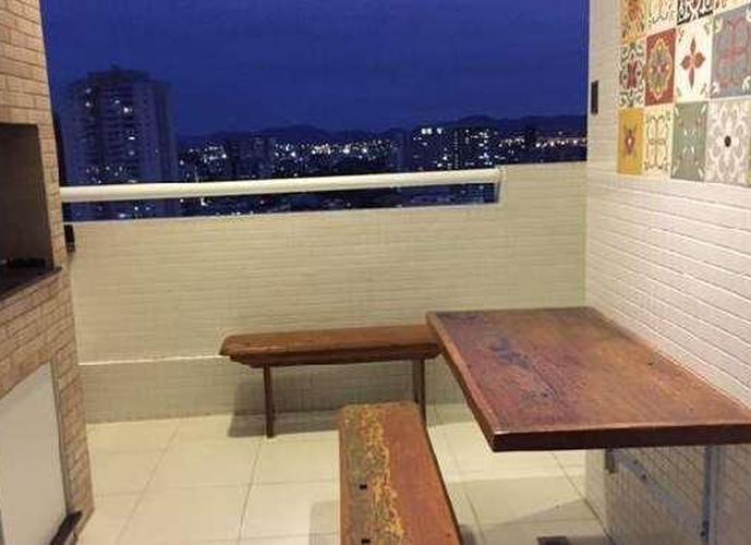 Apartamento em Gonzaga/SP de 85m² 2 quartos a venda por R$ 679.900,00