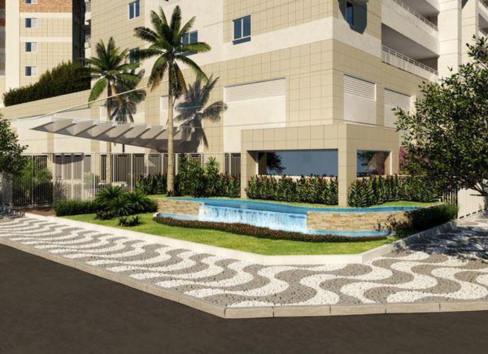 Cobertura em Gonzaga/SP de 230m² 3 quartos a venda por R$ 2.260.000,00