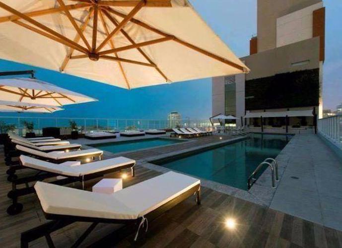 Apartamento em Gonzaga/SP de 57m² 1 quartos a venda por R$ 371.000,00