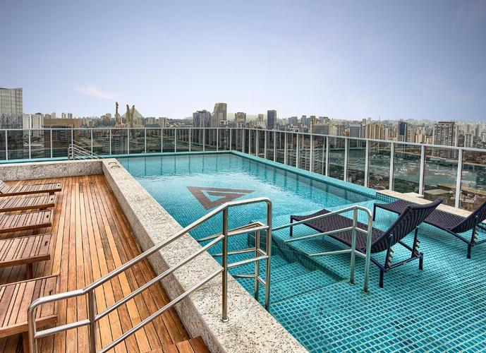 Apartamento em Vila Gertrudes/SP de 52m² 1 quartos a venda por R$ 485.000,00