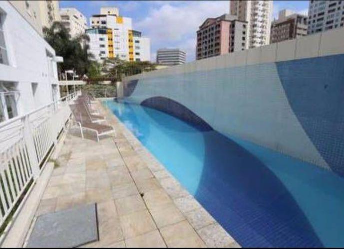 Apartamento em Itaim Bibi/SP de 40m² 1 quartos a venda por R$ 550.000,00