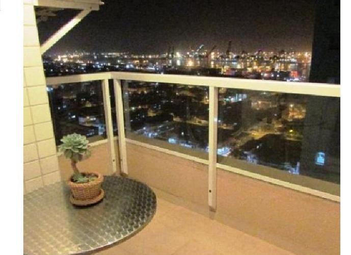 Apartamento em Ponta Da Praia/SP de 77m² 3 quartos a venda por R$ 460.000,00
